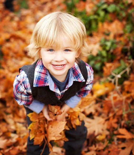 nejlepší podzimní fotografický snímek s dětskými nápady