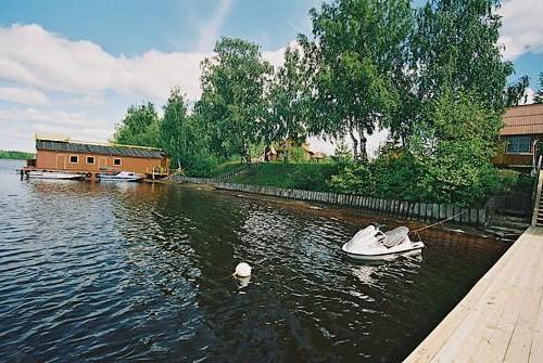 odmor na kamp mjestu Nižnji Novgorod regiji