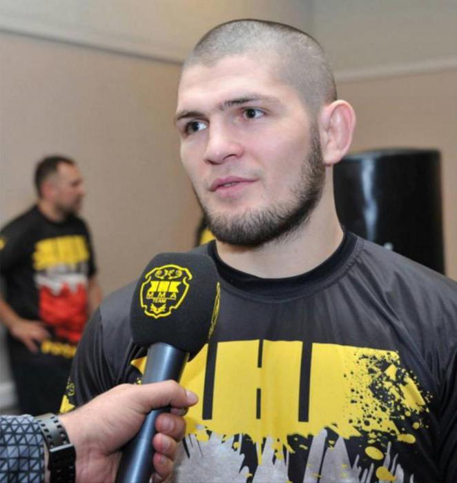 i migliori combattenti MMA