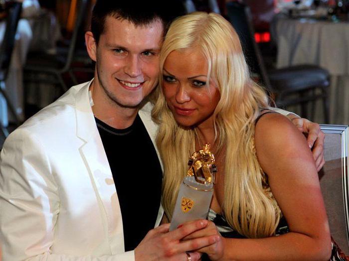 Barulin Konstantin z żoną