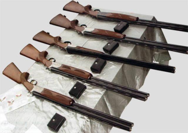 Pistole 12 calibro TOZ