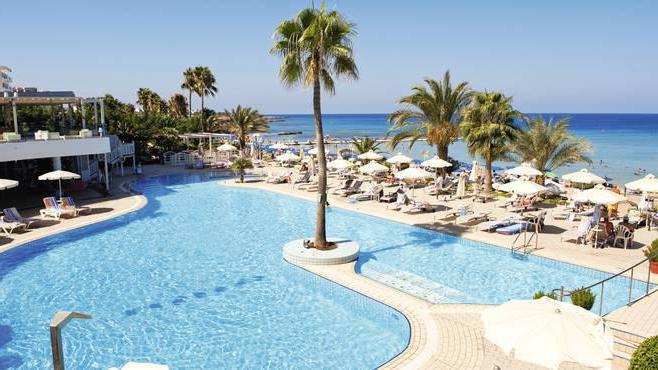 Hotel per le vacanze a Cipro con diapositive