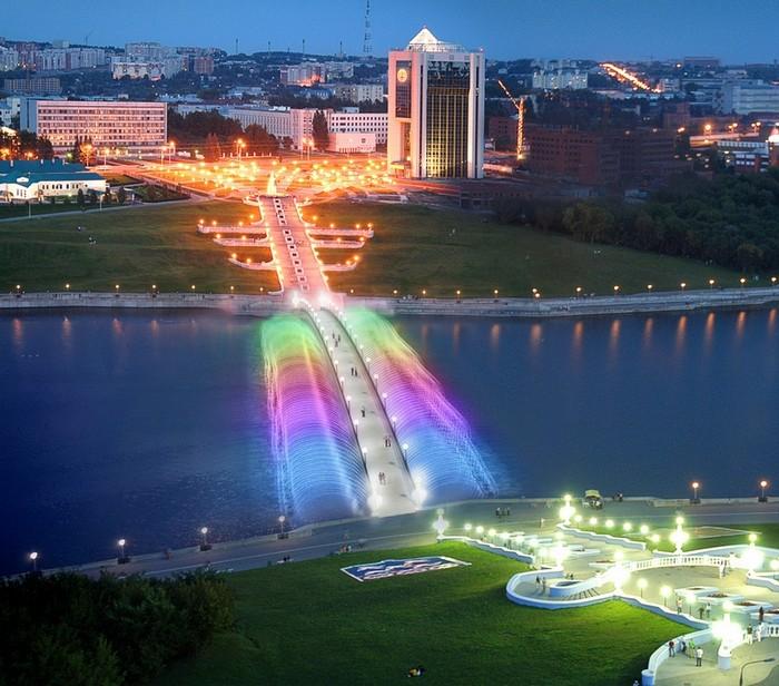 Cheboksary noční město