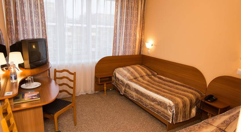 hotelový pokoj rusko