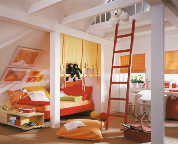 idee di design per la stanza dei bambini