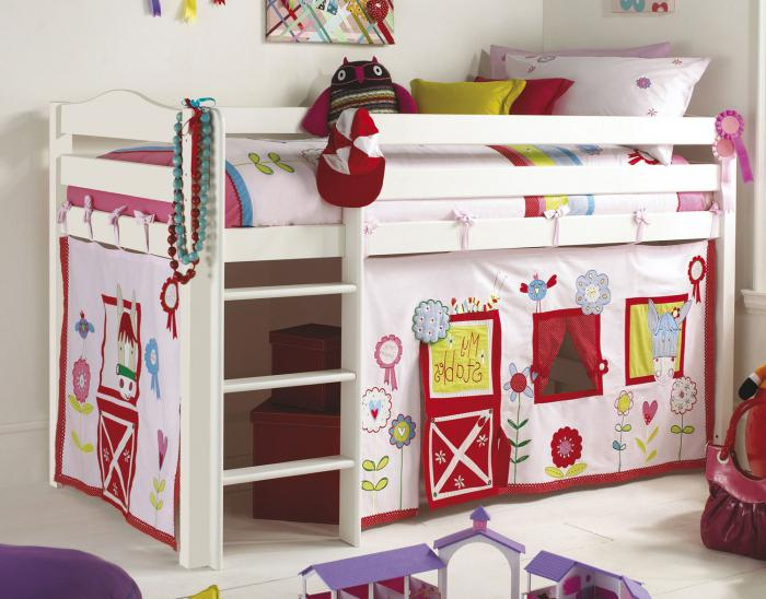 idee per la stanza dei bambini per le ragazze