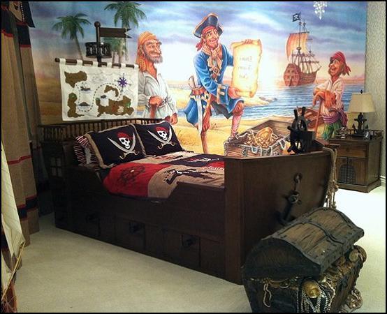idea di camera per bambini per un ragazzo