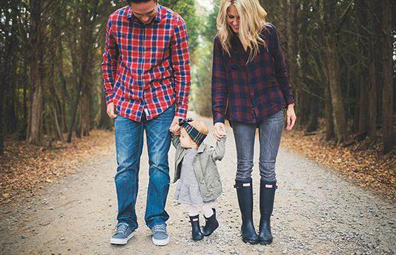 jesenski družinski fotografski posnetek o naravi idej