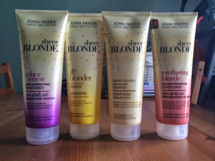 osvjetljavanje šampona za kosu