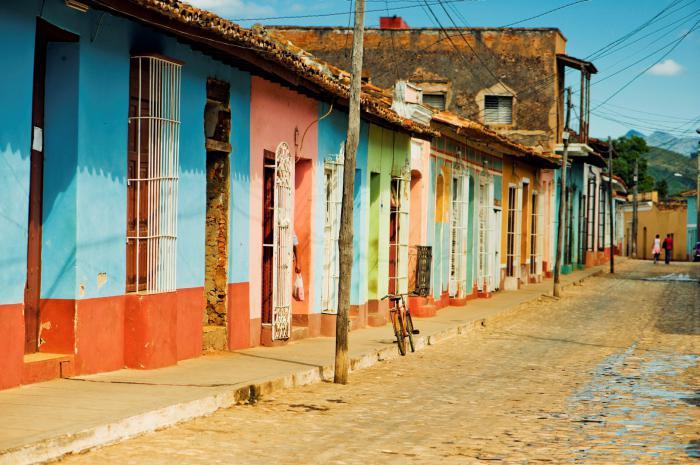 località cubi sul Mar dei Caraibi