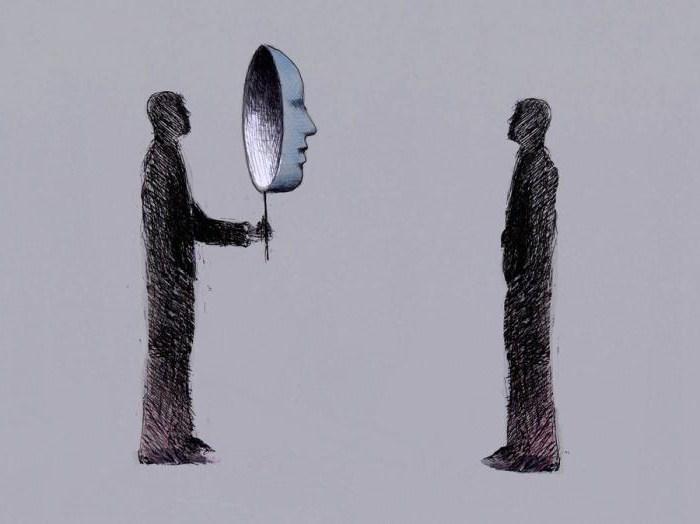 statusi o laži in prevare s pomenom