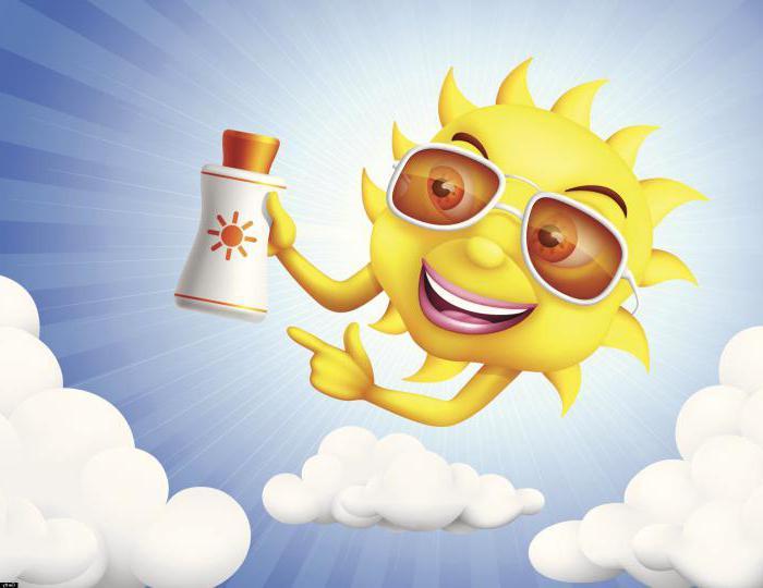 Сунблоцк на сунцу