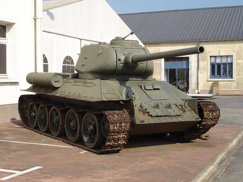 Резервоар Т-34