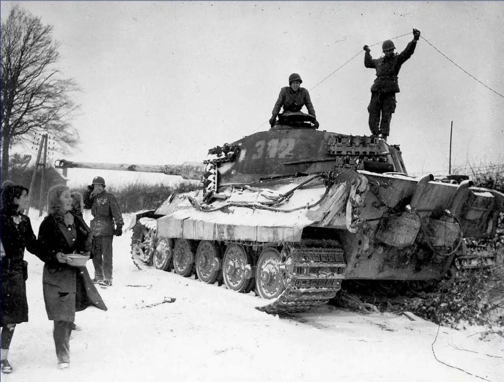 Снимки на танкове от Втората световна война
