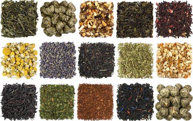 Različni čaji