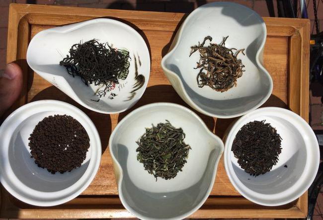 Sorte črnega čaja