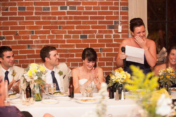 vjenčanje tost za sestru od sestre