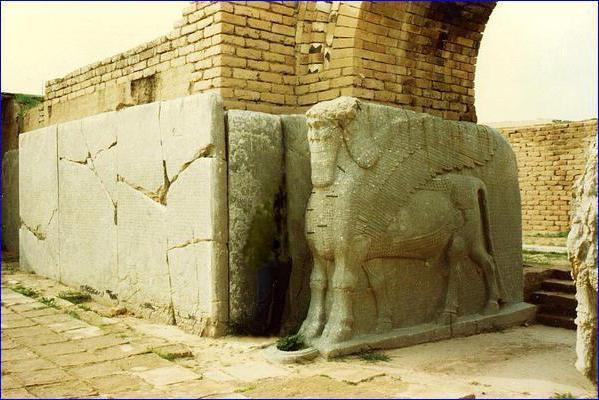 Glavno mesto Asirije je levjev brlog