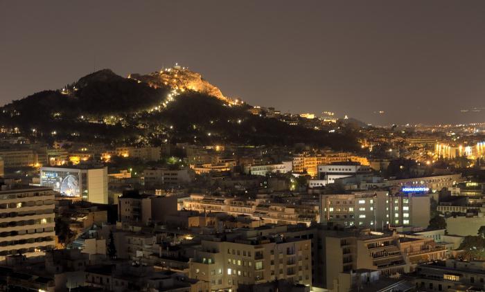 la capitale della moderna Grecia