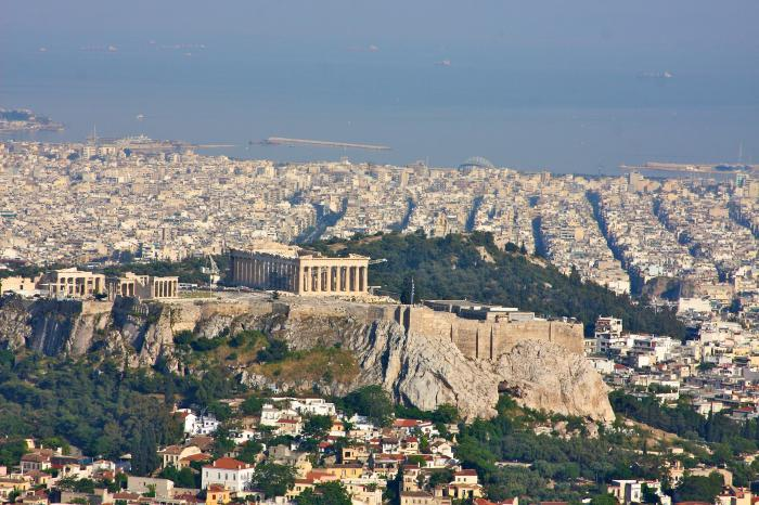 la capitale della Grecia è Atene