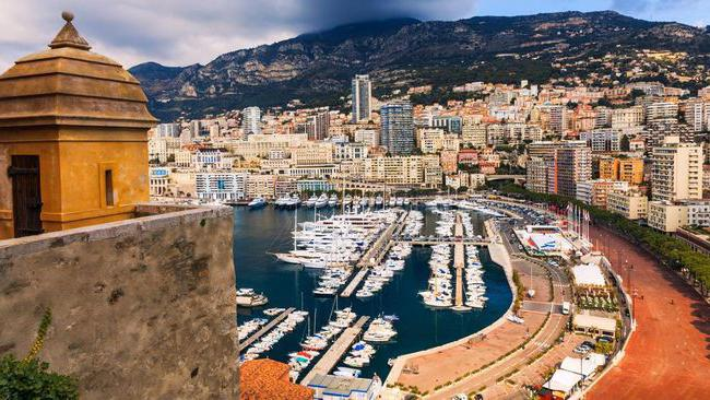 Главни град Монака
