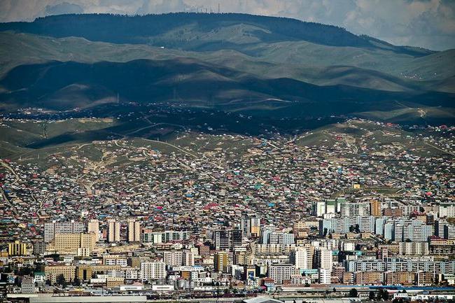 La capitale della Mongolia