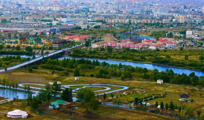 Nome della capitale della Mongolia