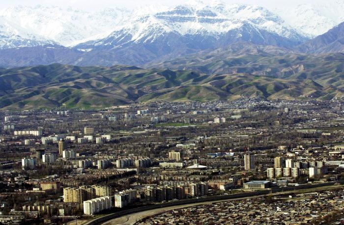 главни град Таџикистана