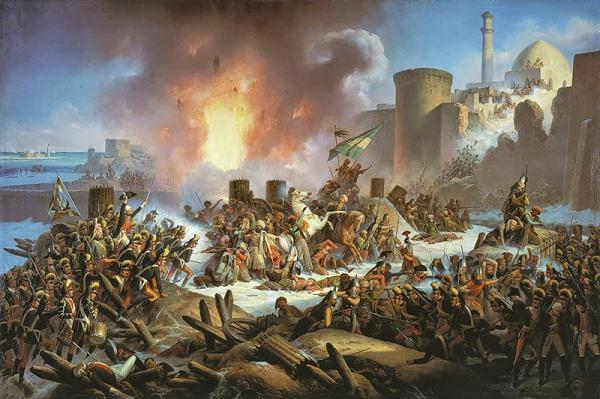 Cattura della fortezza di Ismaele