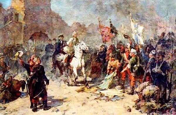 Cattura della fortezza di Izmail Suvorov