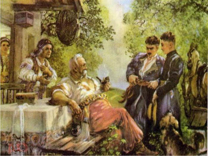 caratteristica di Taras Bulba dalla storia Taras Bulba