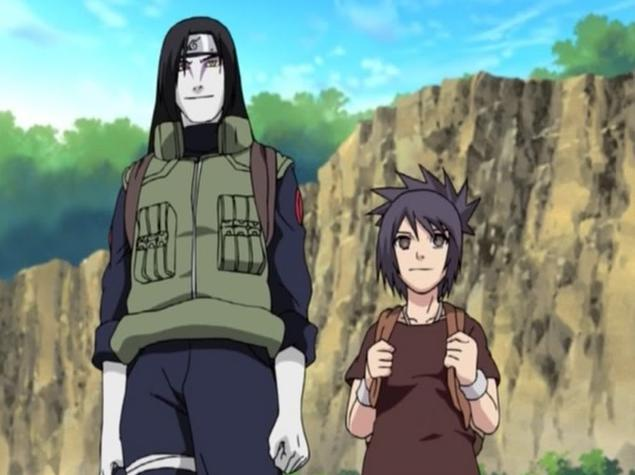 Anko i Orochimaru