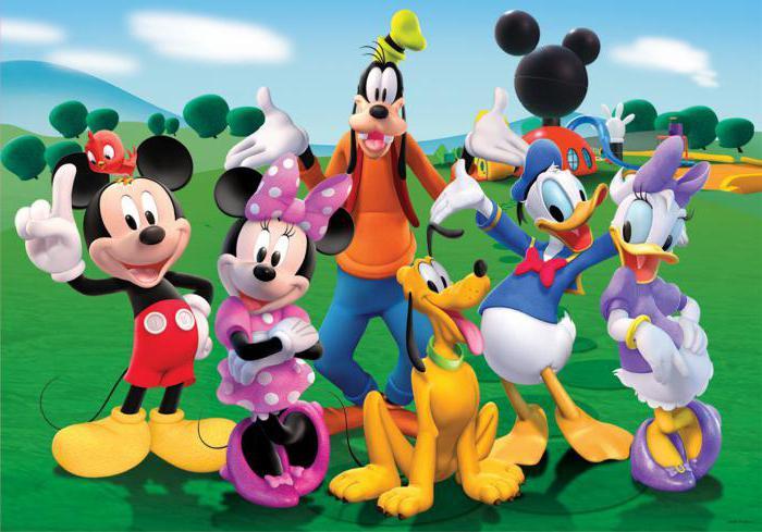 personaggi dei cartoni animati Disney