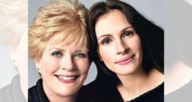 Julia Roberts con mamma