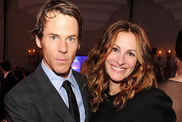 Julia Roberts con suo marito, Daniel Moder