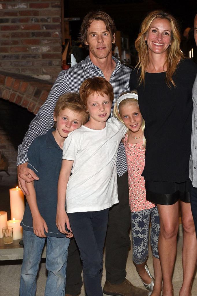 Famiglia Julia Roberts