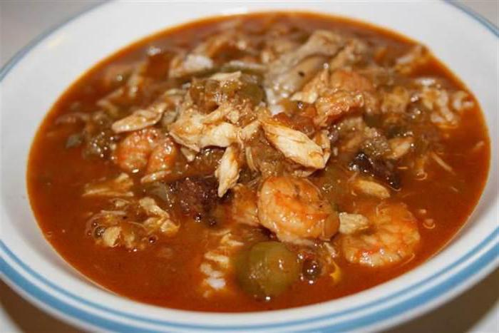 ], klasická receptura gumbo soup