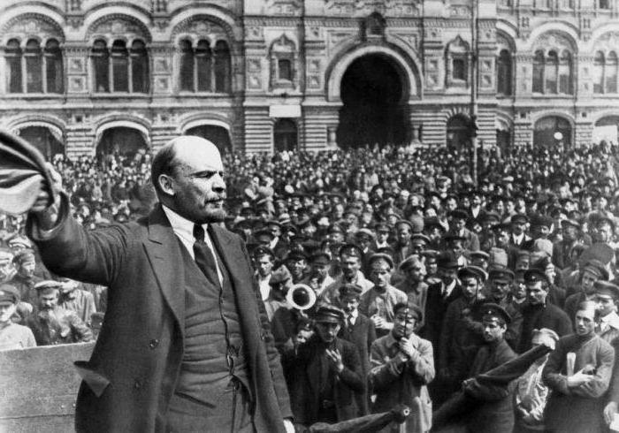 L'avvento al potere dei bolscevichi