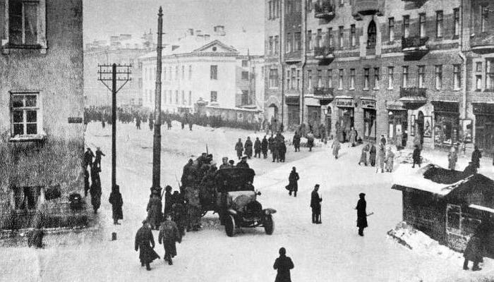 L'avvento al potere dei bolscevichi in Russia