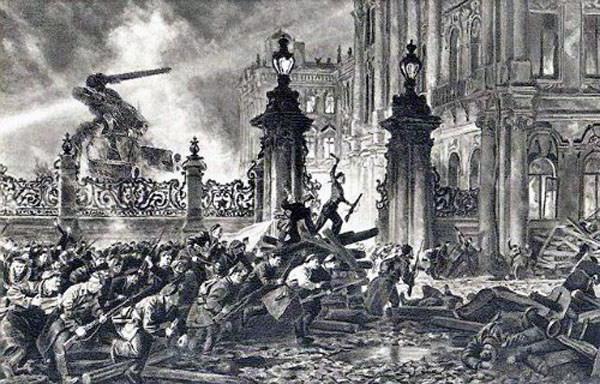 L'arrivo dei bolscevichi al potere dell'anno