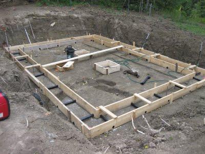 quanta concretezza è necessaria sulla fondazione