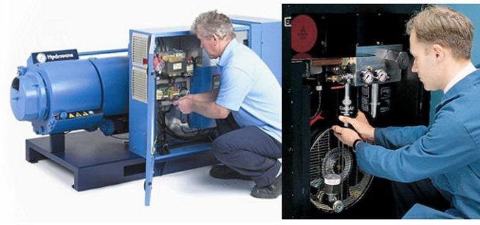 compressore d'aria per utensili pneumatici