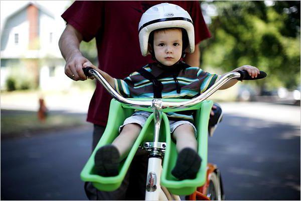 dječje sjedalo za bicikle na prtljažniku