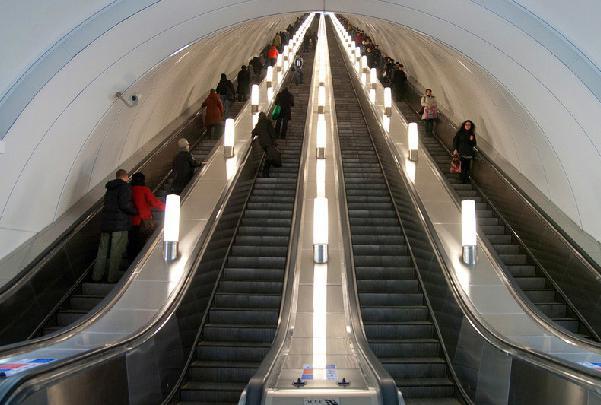Резултат с изображение за първата линия на метрото на Киев.