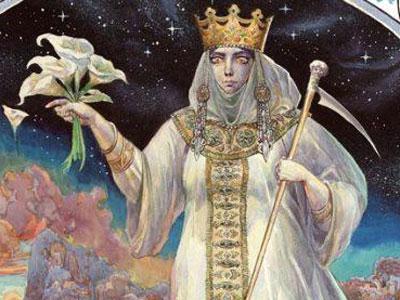 Славянска богиня на смъртта