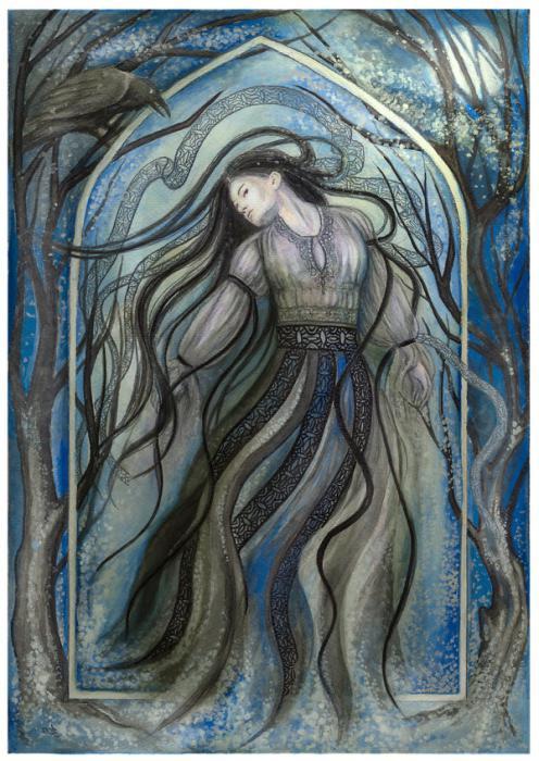 Снимка на богинята на смъртта
