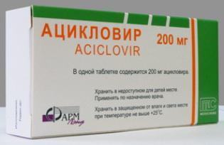 Acyclovir compresse istruzioni per l'uso