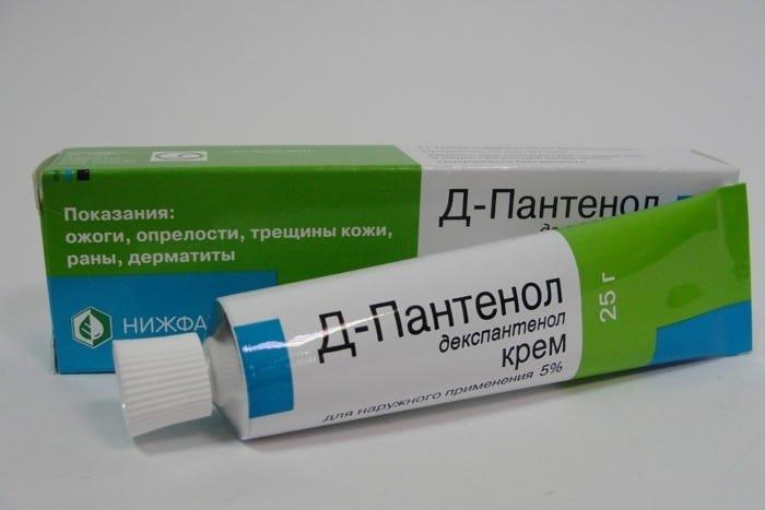 smetana depantenol