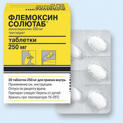 Flemoxine Solutab za otroke