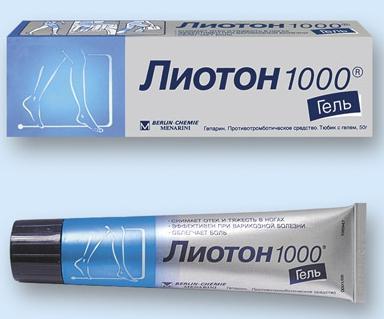 лиотонов гел